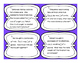 4th Grade Fractions Word Problem Task Card 15 Set {Growing