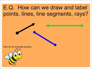 Drawing Points, Lines, Rays, and Segments- Interactive Sma