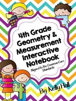 4th Grade  Geometry & Measurement Common Core Notebook