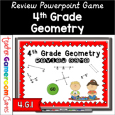 4th Grade Geometry Review Powerpoint Game