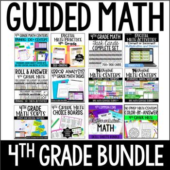 4th Grade Guided Math (Mega Bundle)
