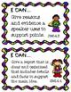 4th Grade I Can Statements ELA & Math- Superhero Themed!