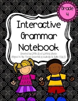 4th Grade Interactive Language Notebook