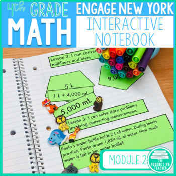 4th Grade Interactive Math Notebook: Engage NY Module 2