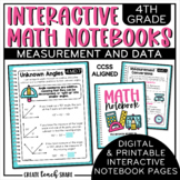 Interactive Notebook - 4th Grade Math - Measurement & Data