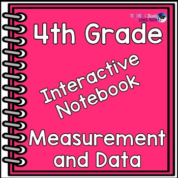 Measurement and Data Interactive Math Notebook 4th Grade C