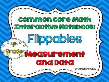 4th Grade Interactive Student Notebook {Measurement and Da
