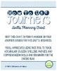 4th Grade Journeys 2014, Unit 1 Skills Planning Chart