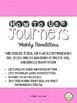 4th Grade Journeys 2014, Unit 3, Weekly Newsletters
