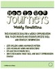 4th Grade Journeys 2014, Unit 6, Weekly Newsletters
