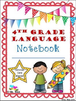 4th Grade Language Notebook: Interact, Teach, Practice, and Write! by Janet Burgeson