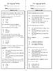4th Grade Language Review FREEBIE