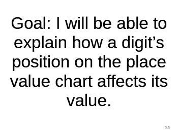 4th Grade Learning Goals MAFS Florida Standards GoMath