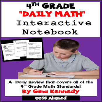 4th Grade Math Daily Test-Prep, Challenging, Easy-Prep Dai
