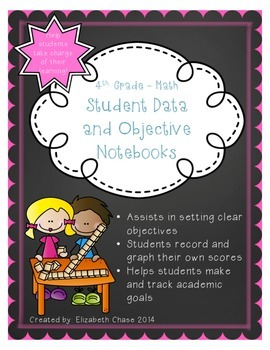 4th Grade Math - Data and Objective Notebook