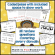 4th Grade Math End of Year Review Task Cards - includes ri