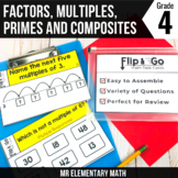 Factors, Multiples, Prime & Composite Numbers - 4th Grade