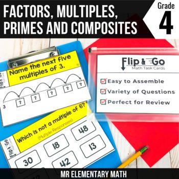Factors, Multiples, Prime & Composite Numbers - 4th Grade