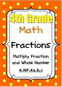 4th Grade Math - Multiply Fractions and Whole Numbers - CC