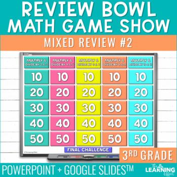 4th Grade Math Game - Beginning of Year #2