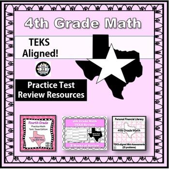 4th Grade Math STAAR Test Prep {Texas Edition}