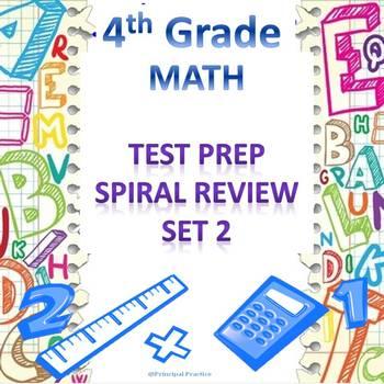 4th Grade Math Spiral Review Set 2