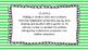 4th Grade Math Standards on Green Striped Frame