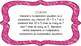 4th Grade Math Standards on Pink Colored Frame