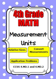 4th Grade Math - Units of Measurement - Customary and Metr