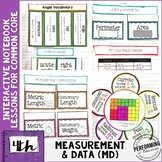 4th Grade Measurement & Data Interactive Math Notebook Com