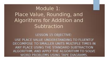 4th Grade Module 1 Lesson 15 PowerPoint