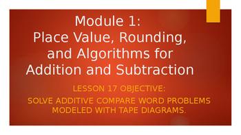 4th Grade Module 1 Lesson 17 PowerPoint