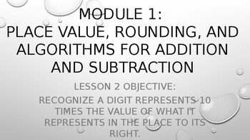 4th Grade Module 1 Lesson 2 PowerPoint