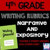 4th Grade Narrative & Expository Writing Rubrics and Scori