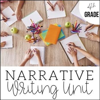 4th Grade Narrative Writing - Unit 2 {CCSS Aligned}