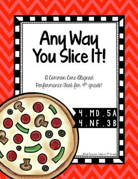 4th Grade Performance Task: Any Way You Slice It