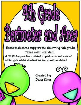 4th Grade Perimeter and Area
