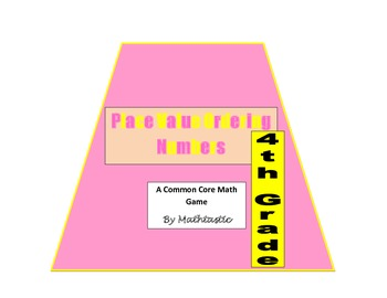 4th Grade Place Value Ordering Numbers Game for Common Core