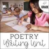 4th Grade Poetry Unit - Unit 6 {CCSS Aligned!}