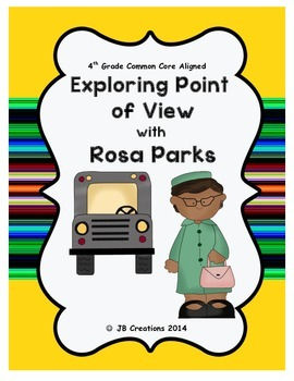 4th Grade Point of View using Rosa Parks Scoot game