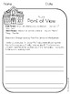 4th Grade Reading Literature Printables - Morning Work (CC