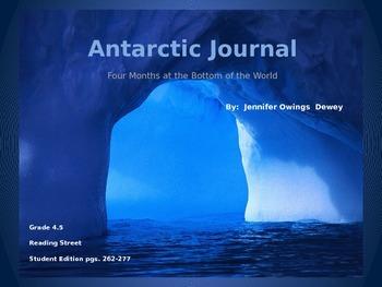 4th Grade Reading Street: Antarctic Journal PPT
