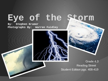 4th Grade Reading Street:  Eye of the Storm