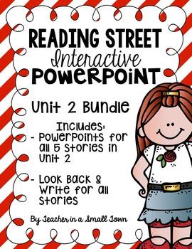 4th Grade Reading Street Interactive PowerPoints {Unit 2 Bundle}