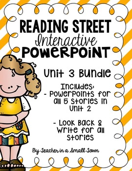 4th Grade Reading Street Interactive PowerPoints {Unit 3 Bundle}