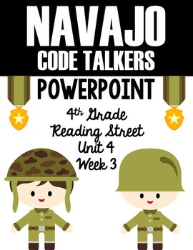 "4th Grade Reading Street ""Navajo Code Talkers"" PowerPoint"