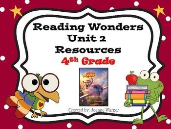 4th Grade Reading Wonders Resources Unit 2