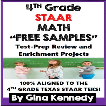 4th Grade STAAR Math Problem Solving and Enrichment Projec