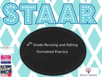 4th Grade STAAR Revising and Editing Questions