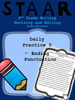 Daily Practice 5-STAAR Writing Revising and Editing